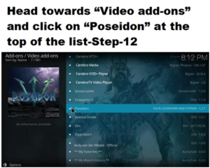 Poseidon-Best Kodi Add-ons