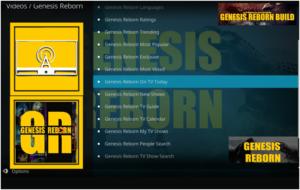 Genesis Reborn by Kodi Add-ons