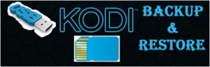 how to backup and storage Kodi