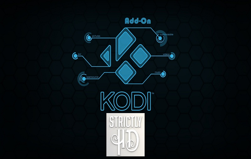 how to install Strictly HD on Kodi Add-ons