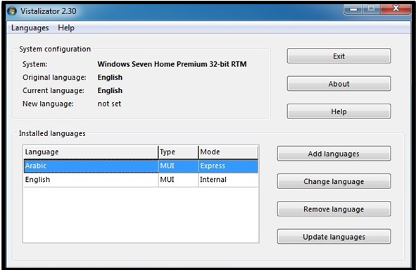 how to add language pack in windows 7