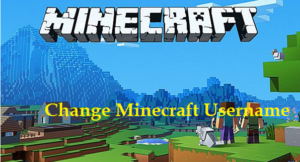 change Minecraft Username