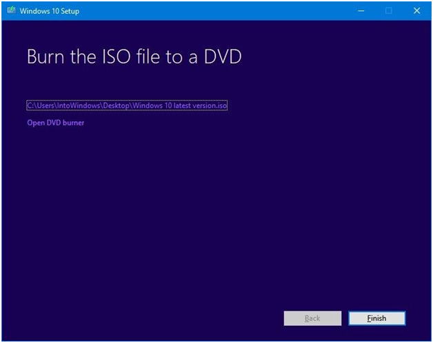 how to put windows 10 iso on usb