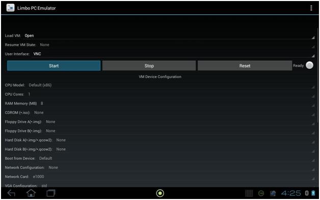 Limbo PC Emulator