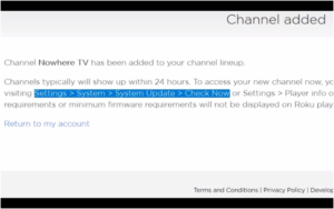 How to Install Hidden Private Channels to Roku