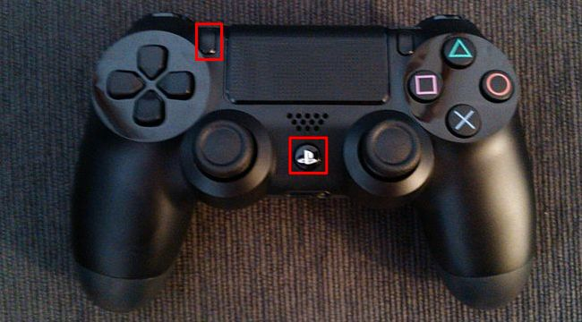 Connect PS4 Controller via Bluetooth