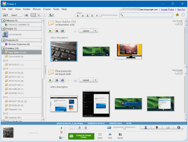 Picasa for windows 10-Download And Install