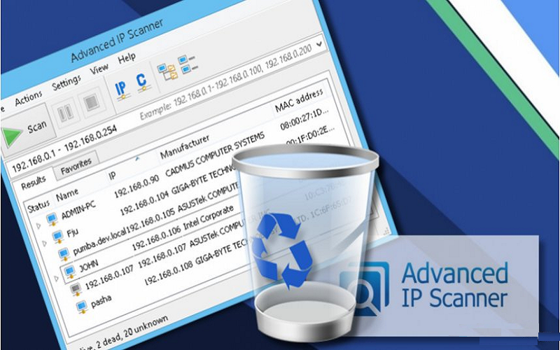 Advanced IP Scanner Software Free Download [2018]