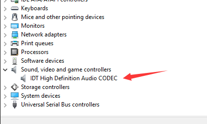 Fix IDT High Definition Audio CODEC Driver Problem