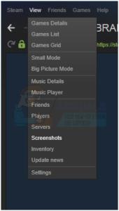 How can I Access Steam Screenshot Folder