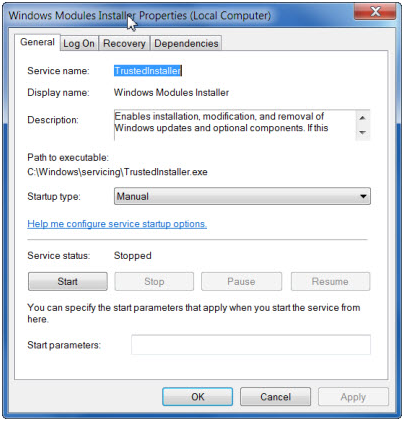 What is TrustedInstaller.exe in Windows 7/8 & 10?