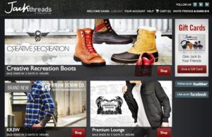 Sites like JackThreads