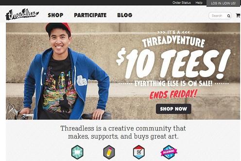 Sites like Redbubble