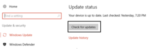 How to solve Unexpected Store Exception Error in Windows 10