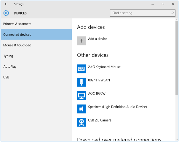 Setup and Use Miracast – Windows 10