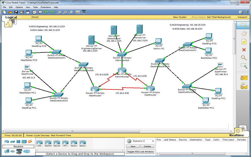 what is the latest packet tracer version