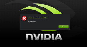 "Fix Unable to Connect to Nvidia"" Problem"