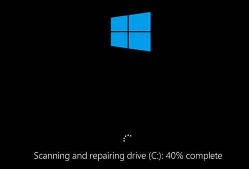 "Fix Stuck ""Scanning and Repairing Drive"" in Windows 10"