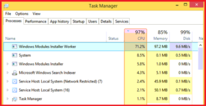 What is Windows Modules Installer Worker