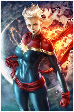 HD wallpaper captain-marvel-2019