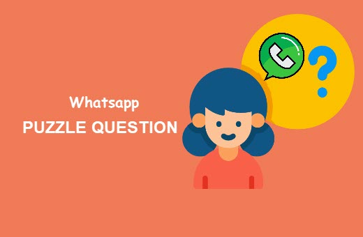 30 Top Whatsapp Puzzles Whatsapp Dare Games With Answer 2019