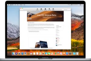 Get macOS Mojave Public Beta