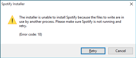 How to Fix: Error Code 18 on Spotify