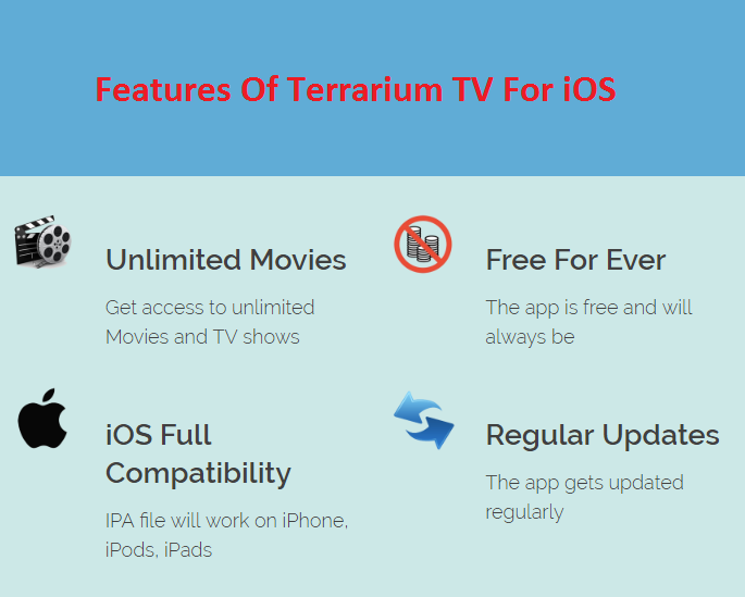 Terrarium TV for iOS Free Download – Terrarium TV On iPhone, iPad/iPod Touch