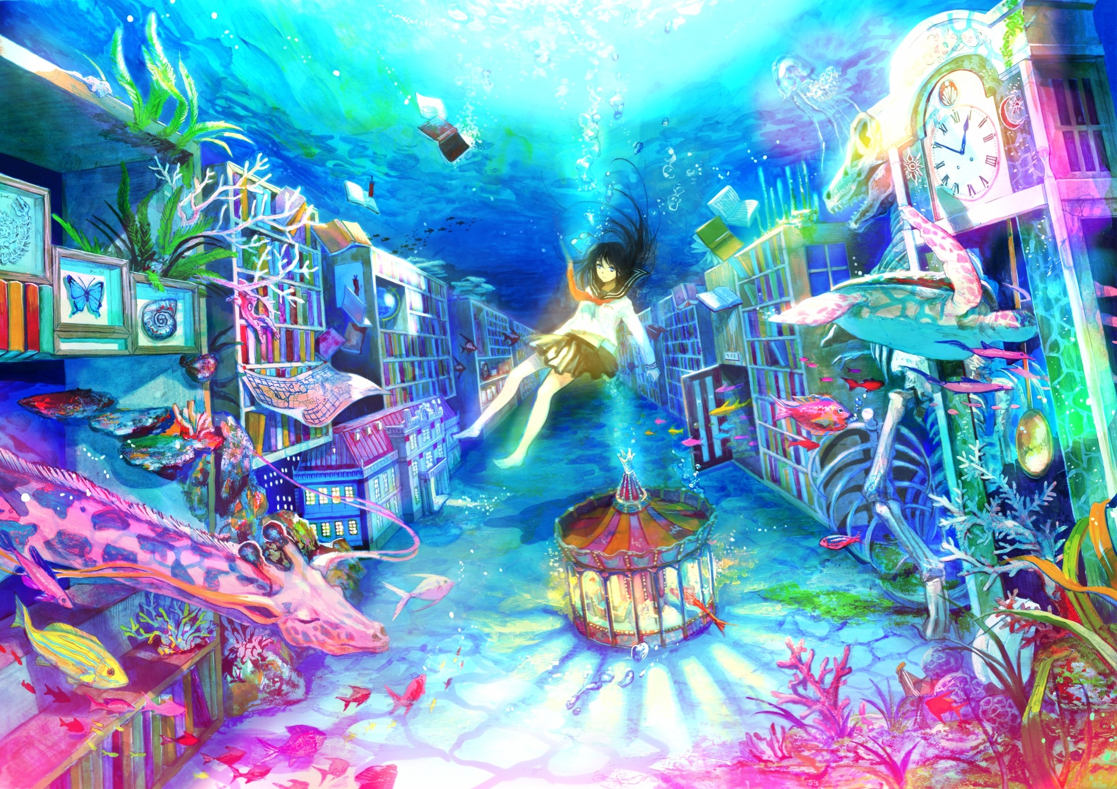 Under Water Psychedelic art