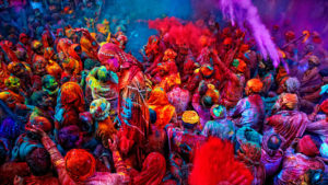 Holi HD Trippy photo
