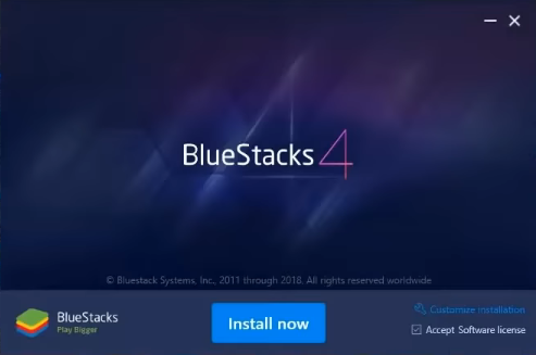 Download the Bluestacks 4