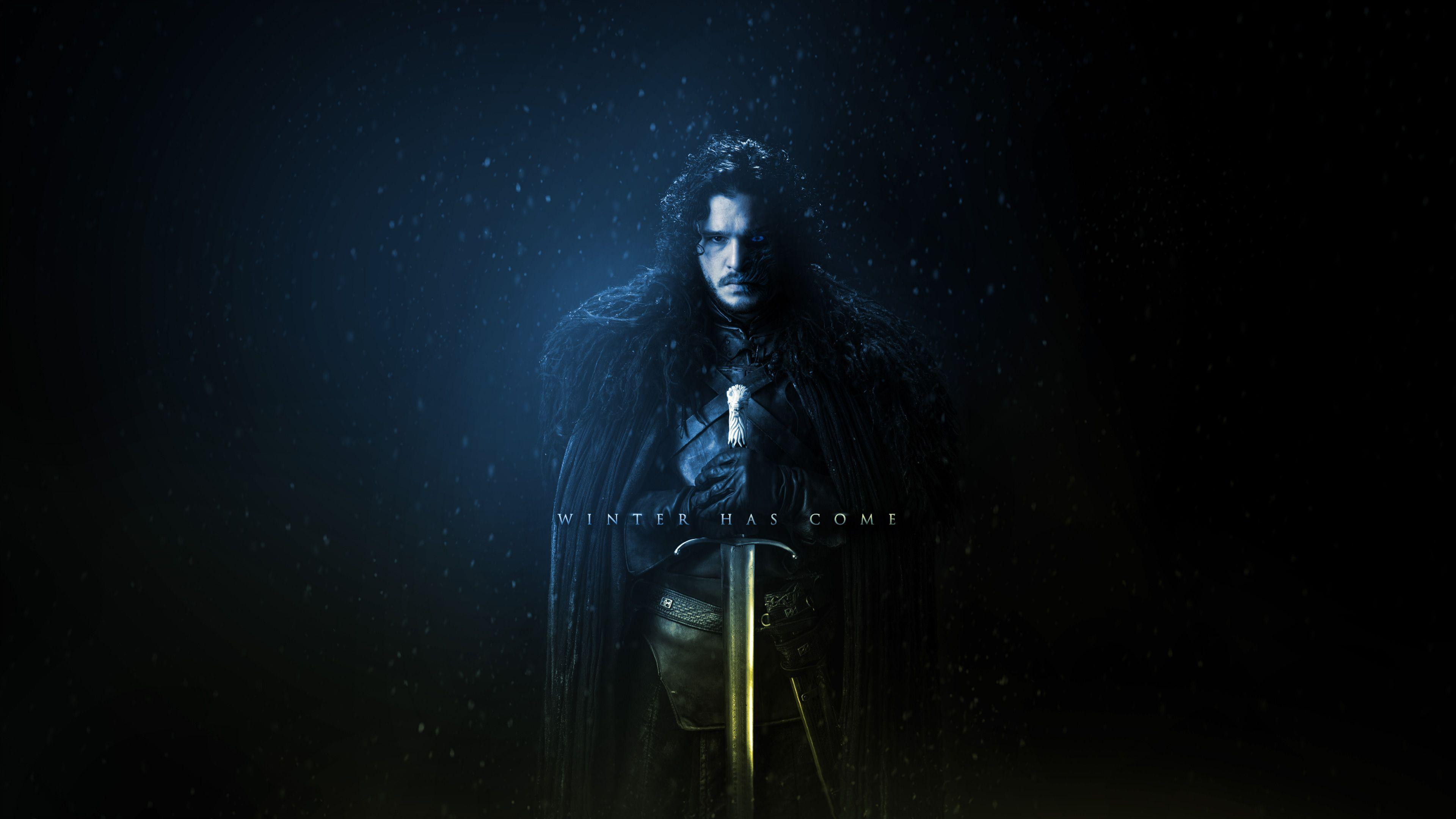 game of thrones wallpaper jon snow