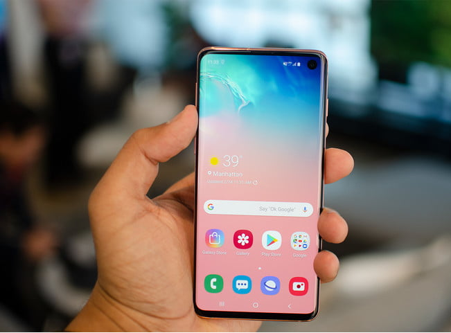 Download The Samsung Galaxy S10 Wallpapers On Any Android devices.