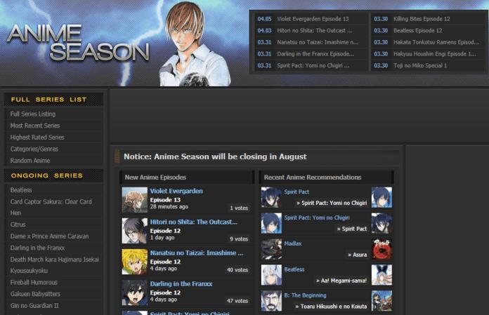 Anime Season