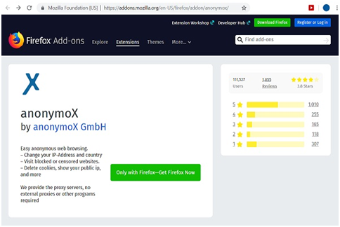 AnonymoX: Download Latest Version for Chrome & FireFox