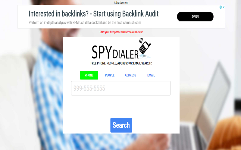 Spydialer - Free Cell Phone Number Lookup