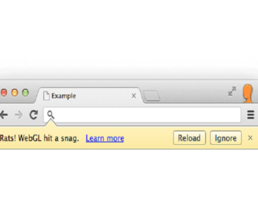 WebGL Hit a Snag