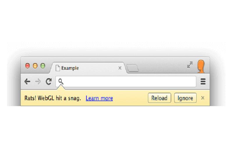 WebGL Hit a Snag: How to fix WebGL Chrome Error