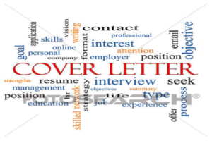 Cover Letter for a Resume