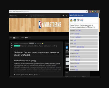 Reddit NBA streams