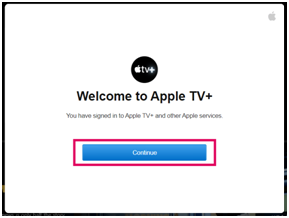 Apple TV Plus steps