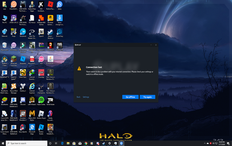 Uplay Connection Lost