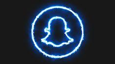 Snapchat Icon Aesthetic neon