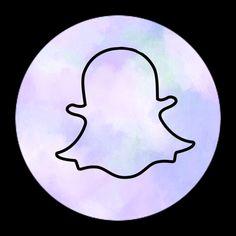 snapchat aesthetic icon purple