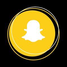 snapchat aesthetic icon yellow