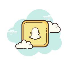 snapchat icon cute