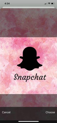 snapchat icon pink