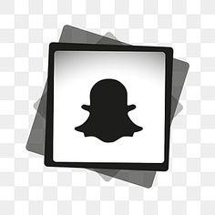 snapchat icon white