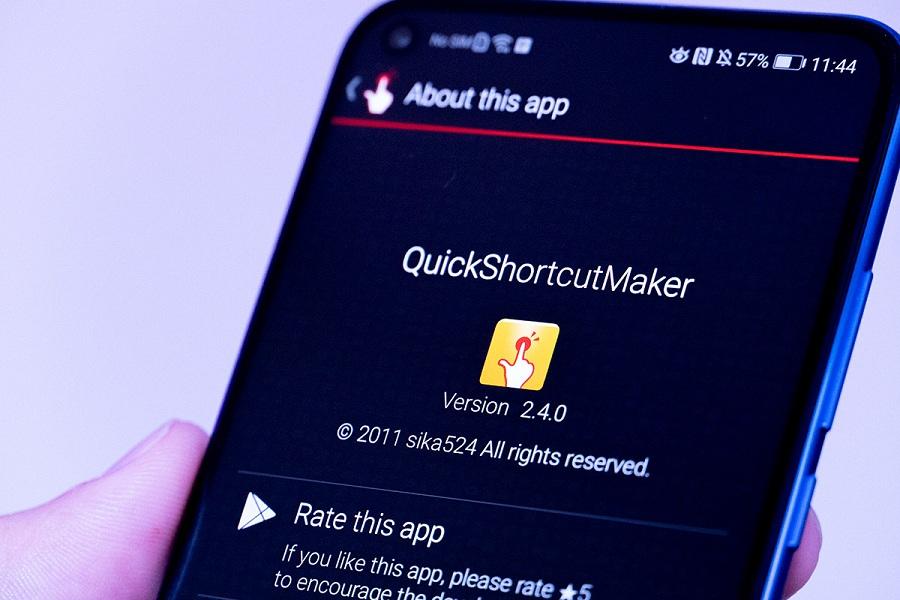 QuickShortcutMaker