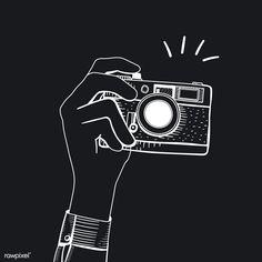 camera icon aesthetic